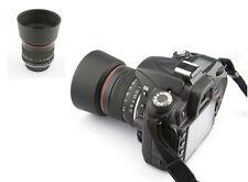 85mm f/1.8 Portrait Manual Focus Lens for Nikon D90 D7200 D7100 D300 D700 D800