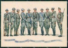 Militari Brigata Granatieri Uniformi Duval FG cartolina XF7239