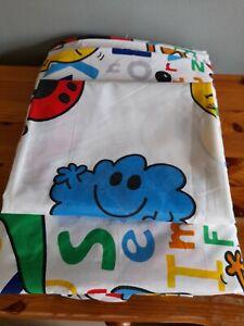 Mr Men Duvet Set (One Pillowcase & Single Duvet Cover)