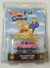 Simpsons Family Car Retro Entertainment Hot Wheels * Protector! * NIP 1:64 Scale
