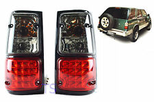SMOKE RED LENS LED TAIL LAMPS LIGHTS FOR ISUZU HOLDEN CAMEO TFR UTE 1989 90-1996