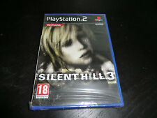 Silent Hill 3 SONY PS2 NEW SEALED