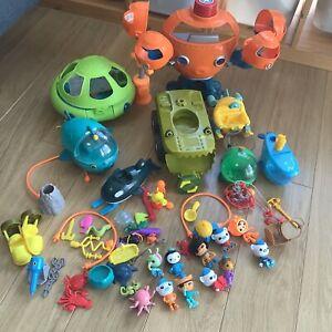 Octonauts Mega Bundle Octopod, Octolab, 6x Gups, 11x Characters + Accessories