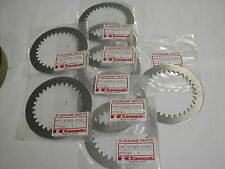 Kawasaki 13089-1098 '85-'92 KX125 KX 125 ALUMINUM CLUTCH driven DISC SET (QTY8)