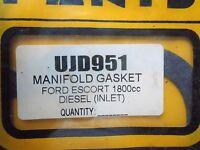FORD ESCORT FIESTA SIERRA MONDEO 1.8 DIESEL INLET MANIFOLD GASKET free p&p uk