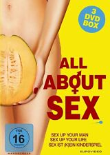 3 DVDs * ALL ABOUT SEX # NEU OVP %