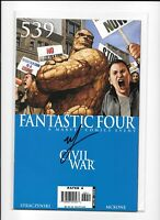 FANTASTIC FOUR: CIVIL WAR #539 SIGNED MIKE MCKONE auto COMIC more listed NM