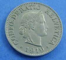 Zwitserland - Switzerland  10 Rappen 1919 KM# 27