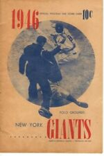 1946 (June 21) Baseball Program, Chicago Cubs @ New York Giants, unscored~ Fair
