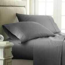 Home Hotel Collection Luxury Soft Brushed Bed Sheet Set 6 piece Deep pocket