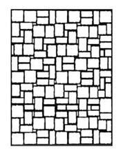 Darice Eb12-17-59 Prägung Ordner 4.25 In. X 5.75 In.-brick Wall