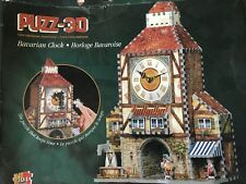 Wrebbit Puzz- 3D Bavarian Clock Puzzle 404 Pieces! NEW!