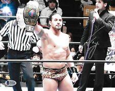 Tama Tonga Signed 8x10 Photo BAS COA New Japan Pro Wrestling Bullet Club CMLL 1