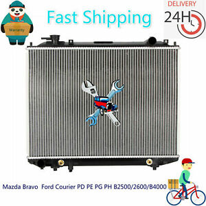 Radiator Ford Courier PD/PE/PG/PH Ranger PJ/PK Bravo Mazda BT50 B2500/2600/B4000
