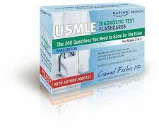 USMLE Prep: Kaplan Medical USMLE Diagnostic Test Flashcards : The 200...