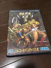 SEGA MEGA DRIVE  GOLDEN AXE II 2  JAPAN GENESIS megadrive