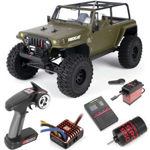 Redcat RER14515 TC8 Marksman RC 1:8 Brushed Electric 4WD RTR Trail Crawler Green