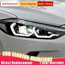 For Hyundai Elantra Headlights assembly Bi-xenon Lens Projector LED DRL 17-18
