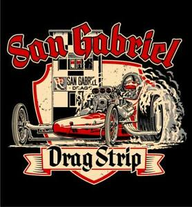San Gabriel Drag Strip T-shirt