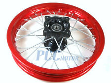 "14"" FRONT RED RIM WHEEL HONDA SDG COOLSTER 107 125cc PIT BIKE I RM08R"