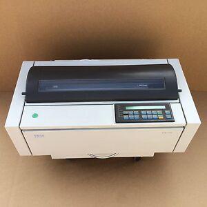 IBM 4247-V03 Workgroup Dot matrix Printer w/ Ethernet  ! GOOD WORKING