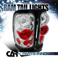 1994-2001 Dodge Ram 1500 2500 3500 Altezza Chrome Tail Lights Rear Brake Lamps
