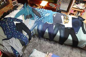 Bulk lot boys size 10 winter clothes: Just Jeans/OMM/Zara Boys/BadBoy/Hurley