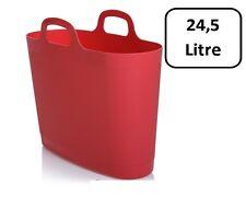 WHAM Flexi Bag Tragetasche, Einkaufstasche aus Kunststoff - 24,5 Liter - coral