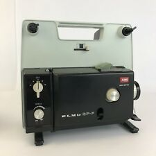 Vintage 1970s ELMO SP-F CINE MOVIE PROJECTOR Super 8 8mm Film Retro