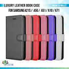 Luxury Leather Book Case Magnetic Wallet Cover For Samsung A21s A50 A51 A10 A71