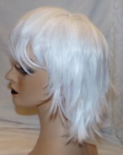 White Synthetic Wig Ecvtop New Womens Costume Hair Piece
