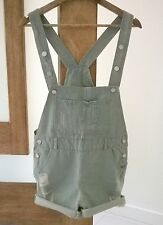 DENIM PLAYSUIT OVERALLS SIZE 8 AU WOMENS NEW