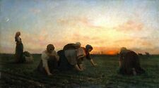 The Weeders by Jules Breton 1868 French Old Masters 10x18 Print