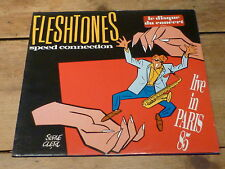 FLESHTONES - SPEED CONNECTION - LIVE PARIS 1985 !!!!MEGA RARE LP FRENCH STICKER