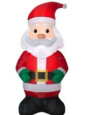 Holiday Time Yard Inflatables Santa, 4 ft
