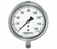 "ASHCROFT 2-1/2"" General Purpose Pressure Gauge, 0 to 5000 psi 251009SW02L5000"