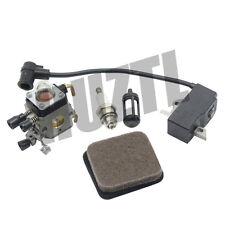 IGNITION COIL AIR FUEL FILTER SPARK PLUG FOR STIHL FS75 FS80 FS85 FC85 HS75 HL75