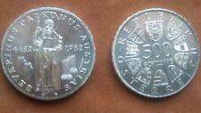 1500. Todestag von St.Severin 500,00 Schilling Silber  1982