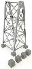 Walthers Cornerstone HO Scale Steel Railroad Bridge Tower/Pier (Kit)