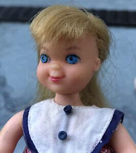 1966 Original Blonde Tutti Doll in Sundae Treat Outfit Vintage Barbie doll