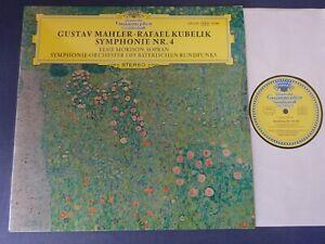 TULIPS NM MAHLER - SYMPHONY NO 4 LP, Bavarian RSO, Rafael Kubelik, DG 139 339