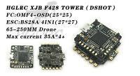 HGLRC F4 Tower Flight Control XJB F428 DSHOT Flytower OSD BEC Flight Control