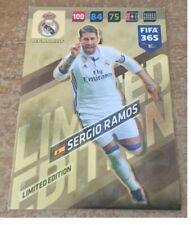 Panini FIFA 365 Adrenalyn XL 2018 Sergio Ramos Gold Limited Edition card