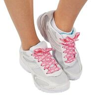 6 Pair - Breast Cancer Awareness Cure Pink Ribbon Sneaker Shoelaces