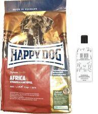 12,5kg Happy Dog  Africa Hundefutter + 250ml ONE WISH Hundeshampoo