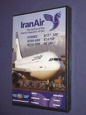 JUST PLANES COCKPIT VIDEO DVD       IRAN AIR       new & sealed