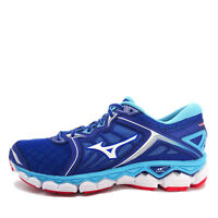 Mizuno Wave Sky [J1GC170201] Men Running Shoes Blue/White-Aqua