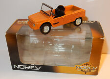 NOREV 3 INCHES 1/54 CITROEN MEHARI ORANGE RETRO IN BOX