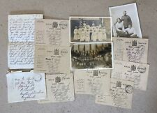 More details for ww1 british soldier field post letters wounded x7 + three photos & letter 1917