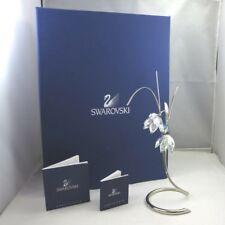 Swarovski Exotic Flower Collection Damarys Erinite Crystal Figurine w Box & Cert